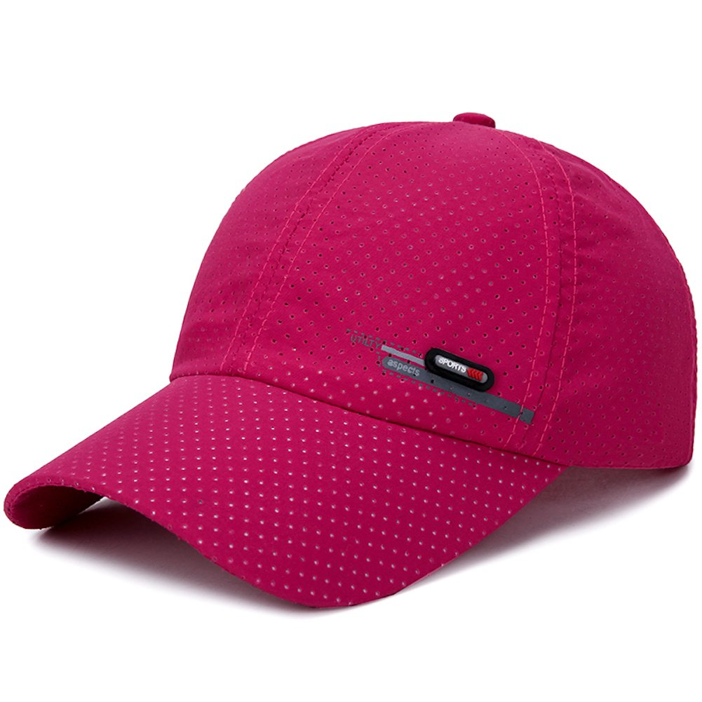 Home Prefer Mens Lightweight Quick Drying Sun Hat Airy Mesh Summer Baseball Hats HP0415-AG