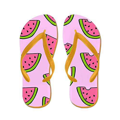 82c9fc8abee Image Unavailable. Image not available for. Color  CafePress - Watermelons   - Flip Flops ...