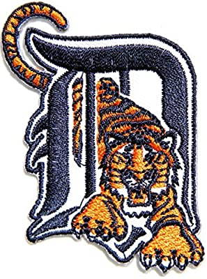 Detroit Tigers Baseball MLB Logo Sign Patch Iron on Applique Embroidered Sew Jacket T shirt