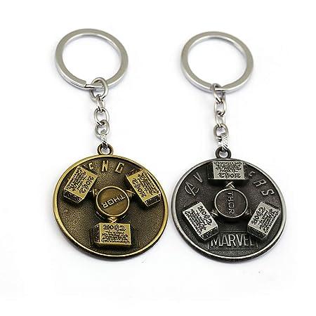Amazon.com : Superhero Thor Keychain Keyring Mjolnir ...