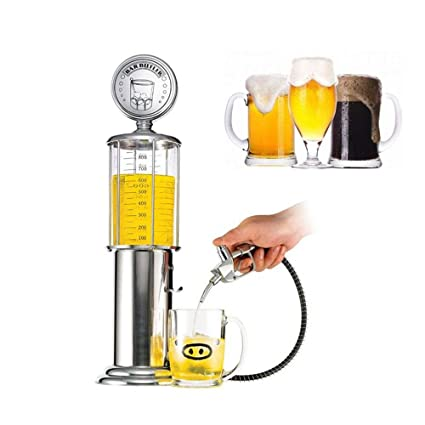 Kobwa Whiskey Decanter - Dispensador de vino con bola de cristal grabada, decoración de licor