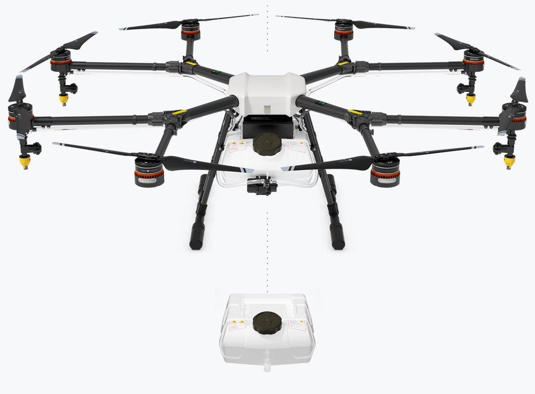 DJI Agras MG-1 Precision Spraying custom Drone, Intelligent Operation Planing Scorpion Drones Dealer (We offer Training)