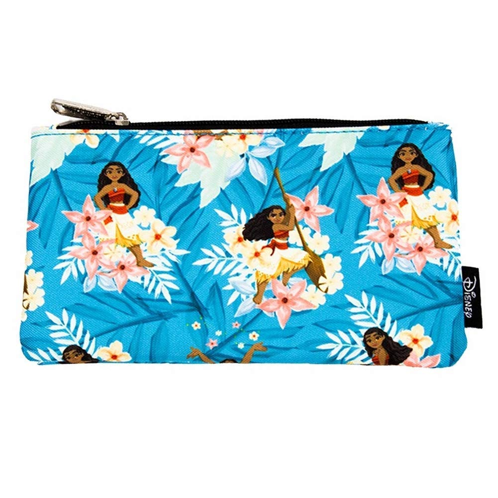 Loungefly Disney Moana Islan Print Print Cosmetic Pouch / Pencil Case