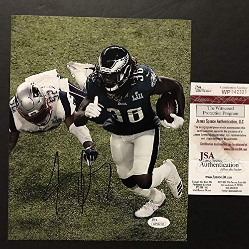cecdae4c0 Autographed/Signed Jay Ajayi Philadelphia Eagles Super Bowl LII 52 Champions  8x10 Football Photo JSA COA