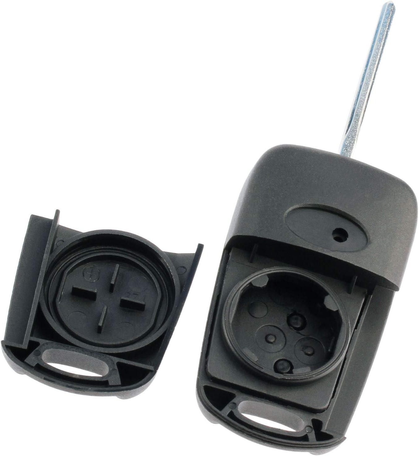 fits 2012-2014 Kia Rio 2010-2013 Kia Soul Flip Key Fob Remote Case Shell NYOSEKSAM11ATX