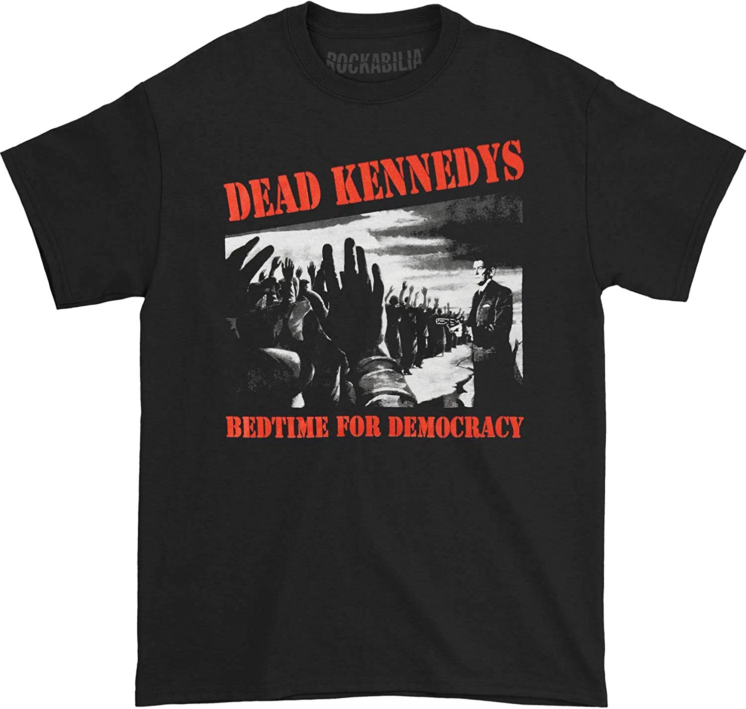 Bedtime For Democracy NEW MENS T-SHIRT Dead Kennedys