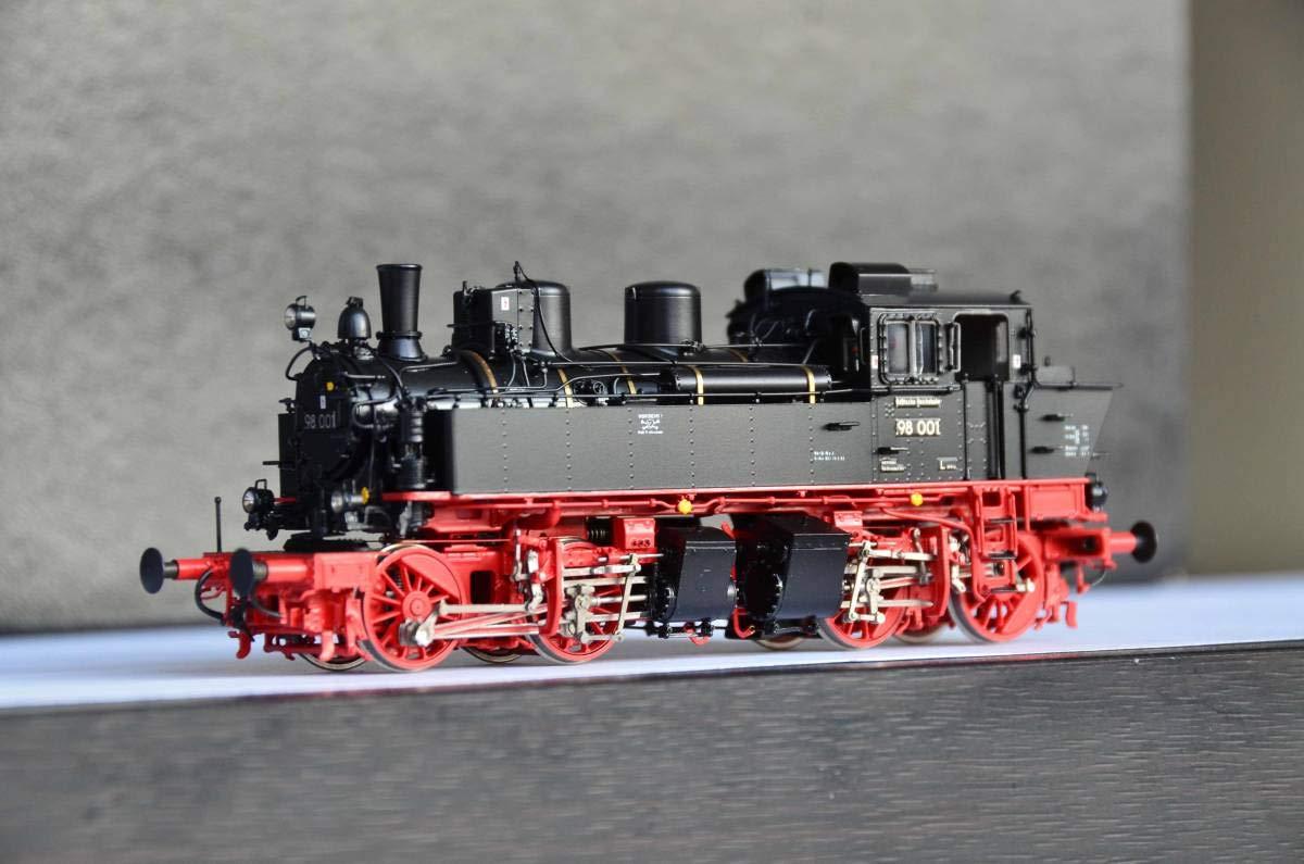 MICRO METAKIT 03803H ドイツ DR BR 98 001 メイヤー式 蒸気機関車 B07RNDLKV6