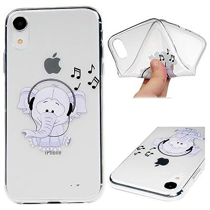 coque iphone xr silicone girafe