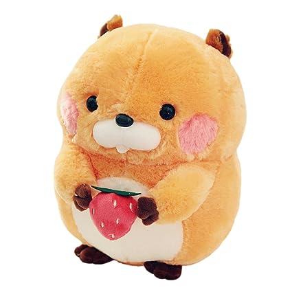 Amazon.com: Cuddly Holding fresa Naranja Marmota woodchuck ...