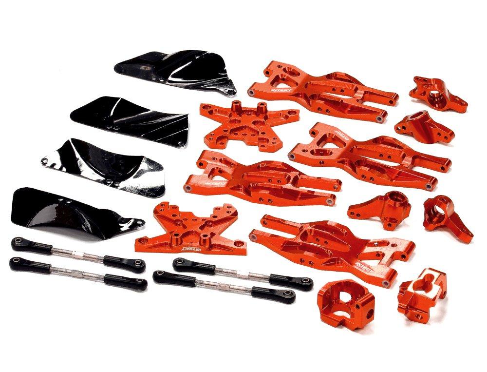 Integy RC T8695RED - Kit de suspensión para HPI 1/10 Bullet MT y Bullet ST