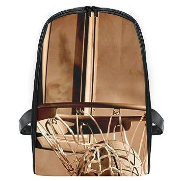 LUPINZ Mochila de viaje para niños de baloncesto que pasa por el ...