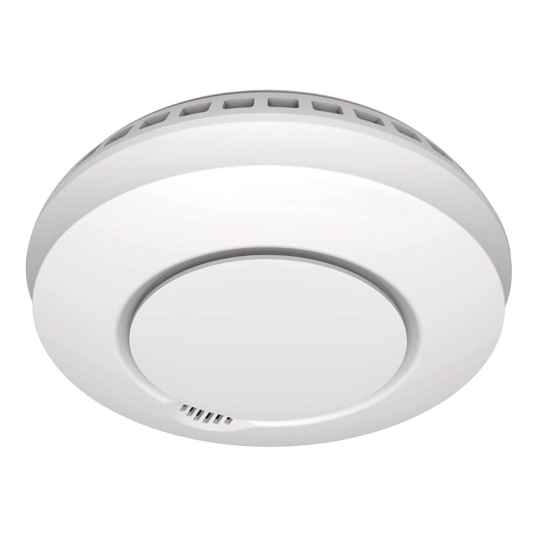 Sebson Detector de Humo Inalambrico con Detector de Calor, conectable con HD_GS412, Incluye Soporte Magnético, DIN EN 14604, fotoeléctricos, ...