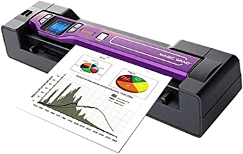 Amazon Com Vupoint Magic Wand Document Photo 2 In 1 Portable Scanner Auto Feed Dock 1 5 Preview Lcd With 1200 Dpi Rechargeable Battery Pdsdk St470pu Vp Electronics