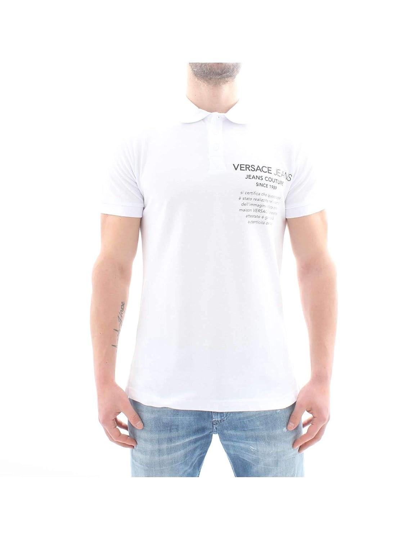 Versace Jeans B3 GTB7P2 36571 Polo Hombre: Amazon.es: Ropa y ...