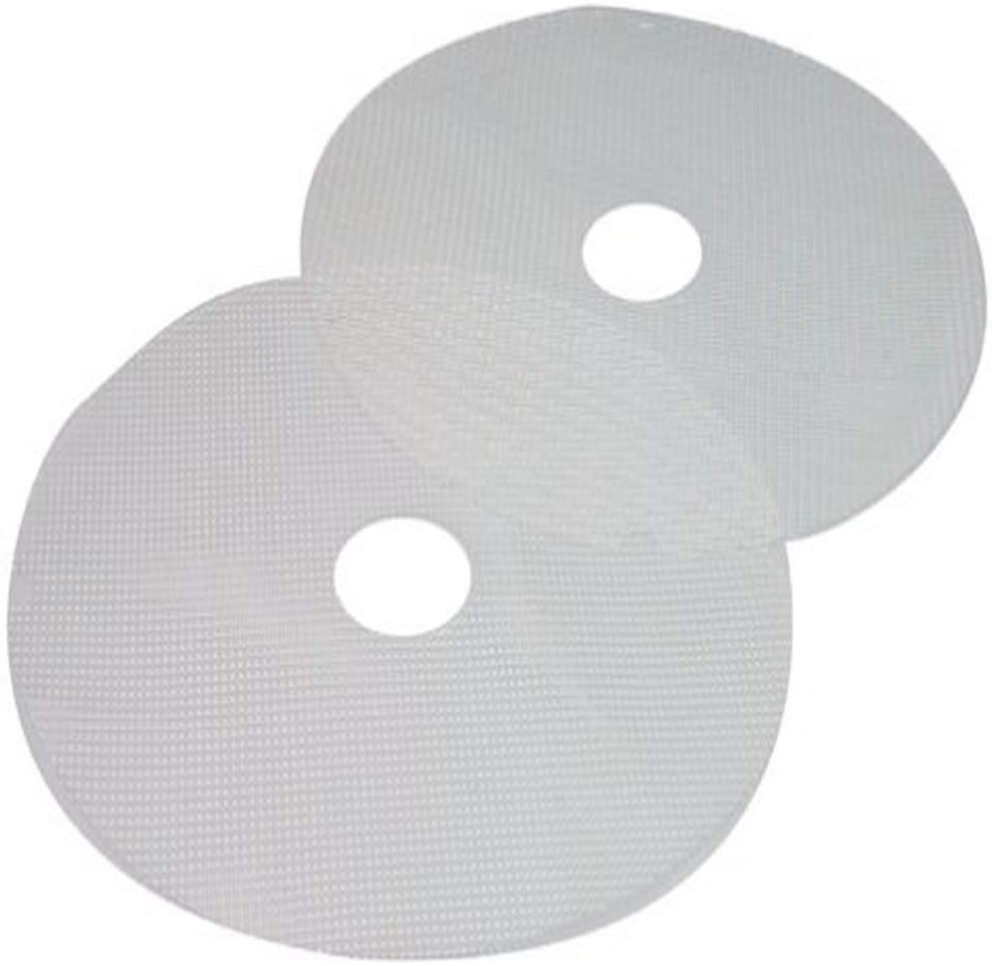 B00004W4VB Nesco MS-2-6 Clean-a-Screen for Dehydrators FD-1010/FD-1018P/FD-1020, Large, Set of 2, White 61kok8t3gKL