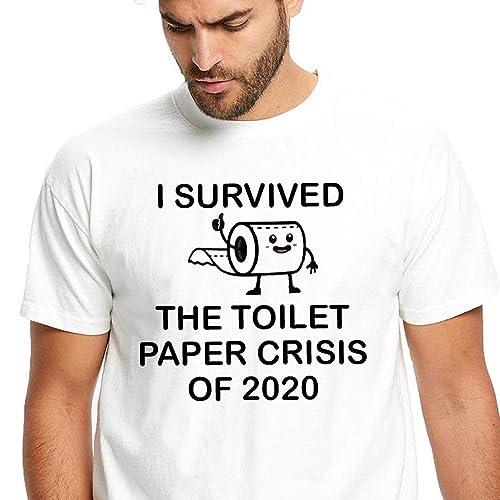 I SURVIVED Corona Covid 2019 T-shirts S-3XL Men Women NEW