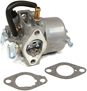 The ROP Shop | Carburetor with Gaskets for John Deere AM122614, AM109051 Lawn Tractor Engines