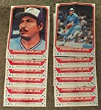 1982 O-Pee-Chee Posters (OPC) - TORONTO BLUE JAYS Team Set