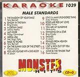 Music : Monster Hits Vol. 1039 Karaoke CDG MALE STANDARDS Sinatra Crosby Bennett Mathis