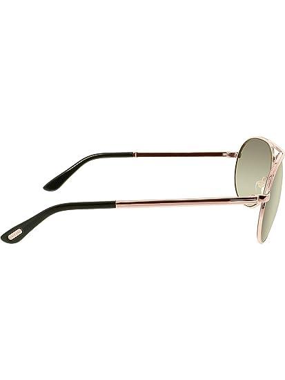 50e637eff25 Amazon.com  Tom Ford Men FT0144 MARKO Rose Gold Grey Sunglasses 58mm  Tom  Ford  Clothing