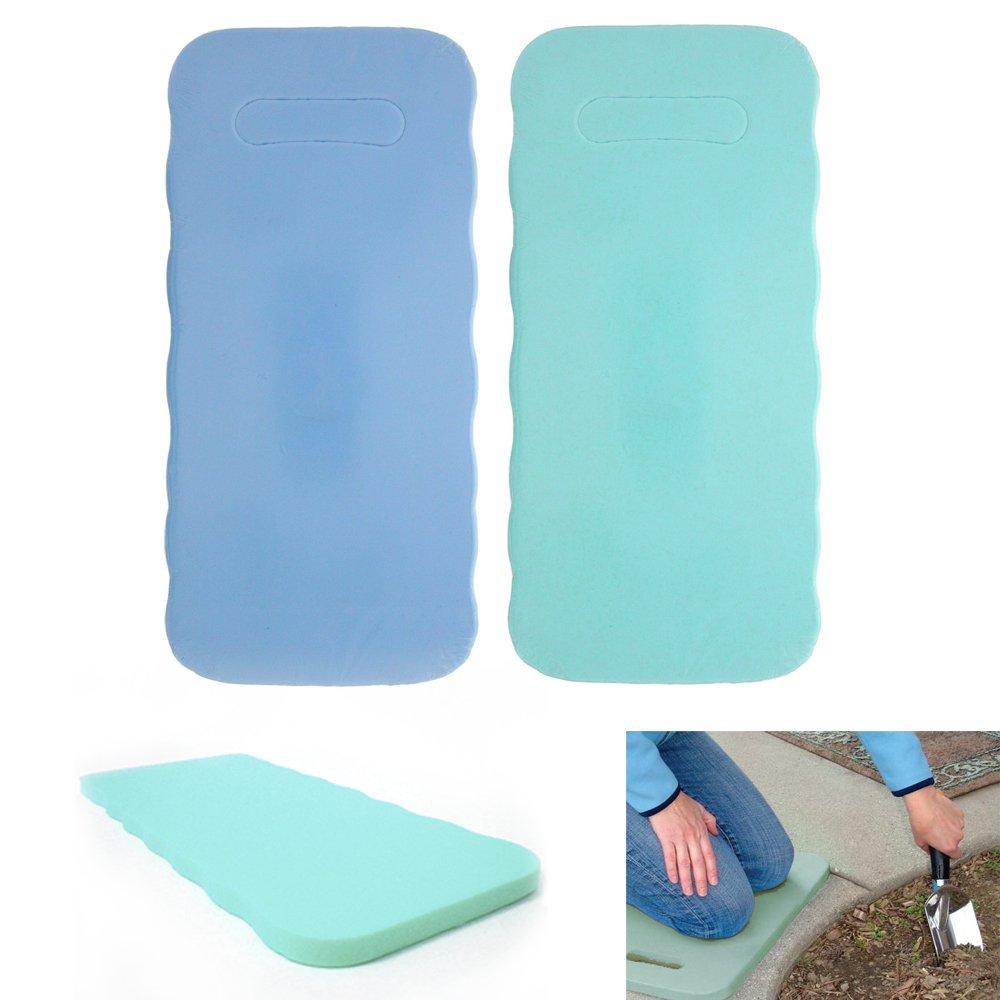 Superieur Amazon.com: 2 Foam Kneeling Pad Knee Mat Seat Cushion Gardening Home Garden  Outdoor School !: Garden U0026 Outdoor