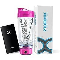 PROMiXX (Modèle 2018) - Le Mélangeur Vortex Original, Bouteille shaker à protéines haute puissance à batteries, Design Esthétique, Conçu avec la technologie X-blade   600ml/20oz   Rose