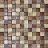 Glass Stone Mosaic Tile Backsplash - 11.40''x11.40'' RioLite - Kitchen Bath Wall