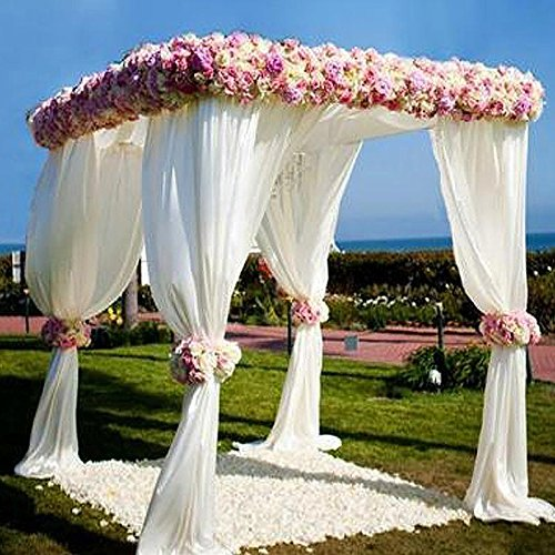 Efavormart 4 Post Height Adjustable Canopy Chuppah Mandap Wedding Photo – Hardware Kit Only Review