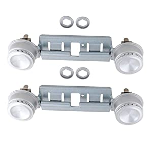 Endurance Pro 2-Pack WB29K17/WB16K10026 Gas Range Double Burner Assembly Replacement for GE