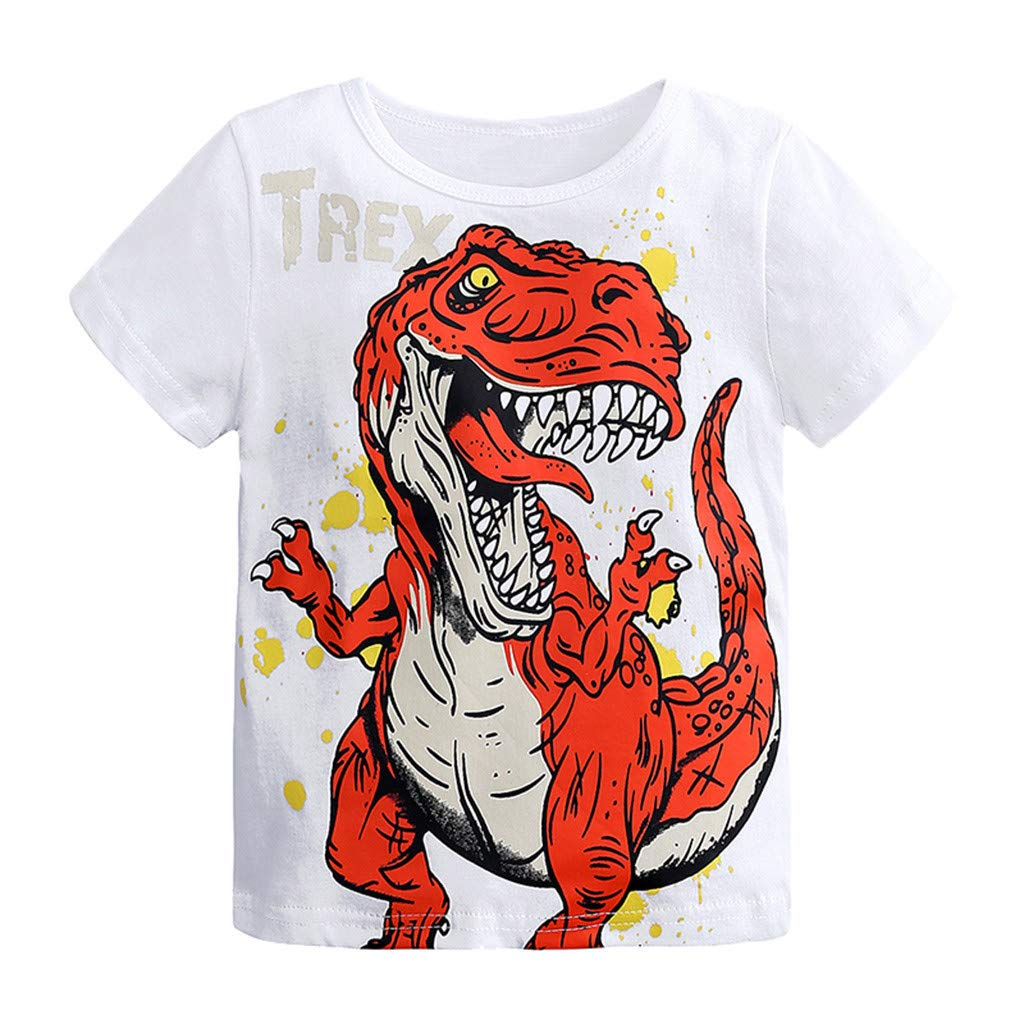 Good Vibes Palm Casual Tunic Tops Short Sleeve Loose Soft Blouse T-Shirt for Boys Girls