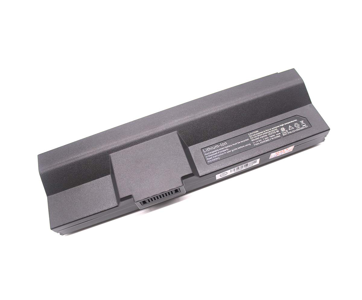 IX270-M Laptop Battery Compatible Itronix GoBook XR-1 IX270 IX270-010 23+050395+01 Series Notebook 11.1V 79Wh 7200mAh by Eleskylaptop (Image #1)