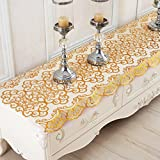 Pvc, hot coffee table cloth/tableware pads/ table cloth/[waterproof], oil-proof , disposable, tea pad/high temperature resistant tablecloth-B 50x170cm(20x67inch)