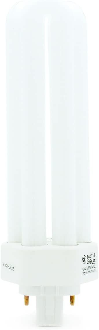 GE 42w Biax T/E 4 Pin Lamp 835 Standard White 3500k GX24q-4 F42TBX/835/4P TE