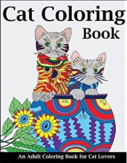 Amazon Com Creative Haven Creative Cats Coloring Book Adult