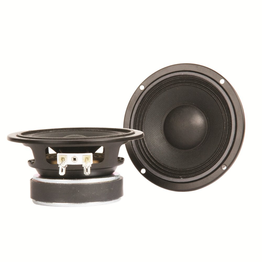 Eminence American Standard Alpha-4-8 (Pair) 4'' Pro Audio Speakers, 55 Watts at 8 Ohms