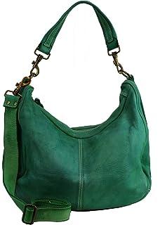 b3f718548d456 BZNA Bag Sia Grün green Italy Designer Damen Handtasche Schultertasche  Tasche Schafsleder Shopper Neu