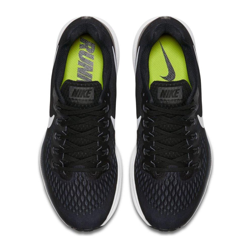 NIKE Women's Air Zoom Pegasus 34 Black/White Dark Grey Running Shoe 10 Women US by NIKE (Image #4)