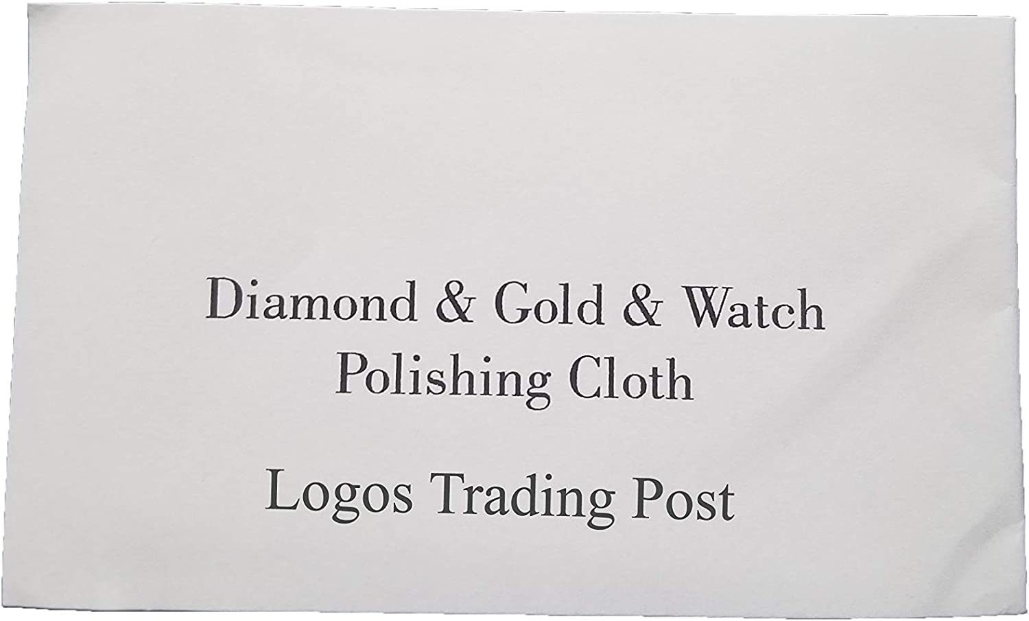 Reusable Logos Trading Post Microfiber Jewelry Polishing Cloth Restore All of Your Jewelry to Its Original Beauty! Pack of 5