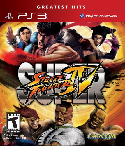 Super Street Fighter IV - Playstation 3 (Street Fighter Video Game)