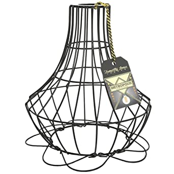 Metropolis small cage wire lamp shade amazon lighting metropolis small cage wire lamp shade keyboard keysfo Image collections