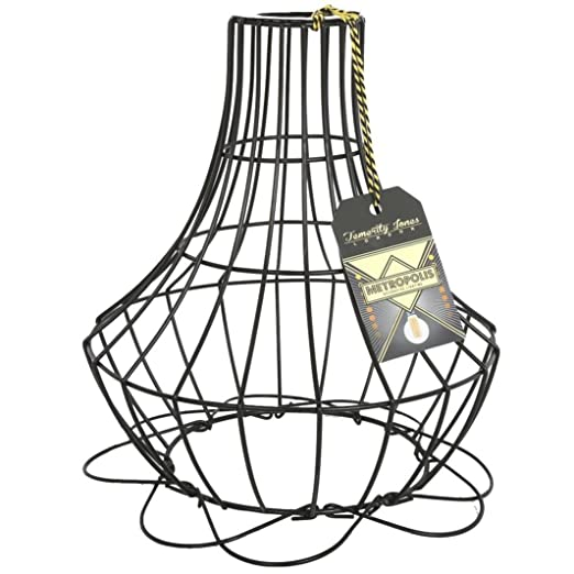 Metropolis small cage wire lamp shade amazon lighting metropolis small cage wire lamp shade keyboard keysfo Images