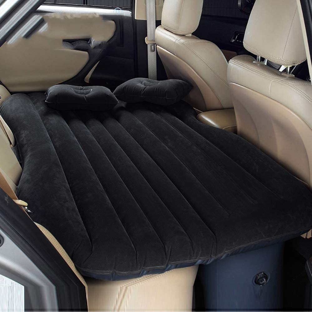 Sinbide Colchón Inflable Coche Multifuncional Plegable Asiento Air de Auto + 2Almohadas