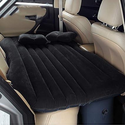 Sinbide Colchón Inflable Coche Multifuncional Plegable Asiento Air de Auto + 2 Almohadas