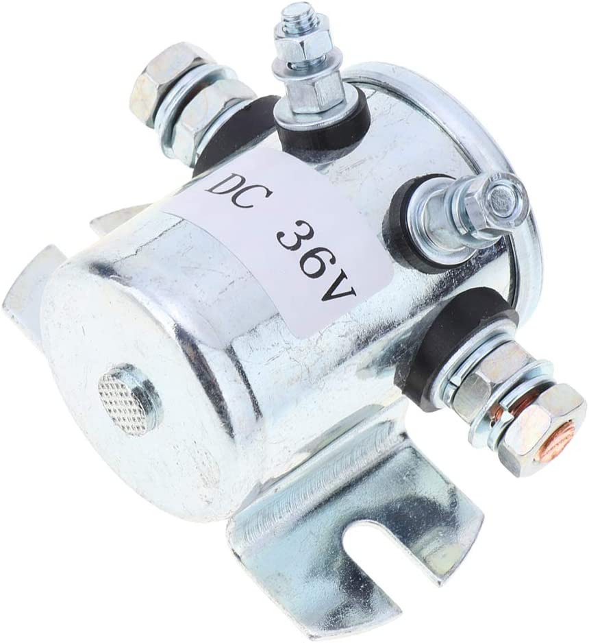 Trucks Winch 36V Max 400A Continuous Duty Solenoid Relay Iron for Carts
