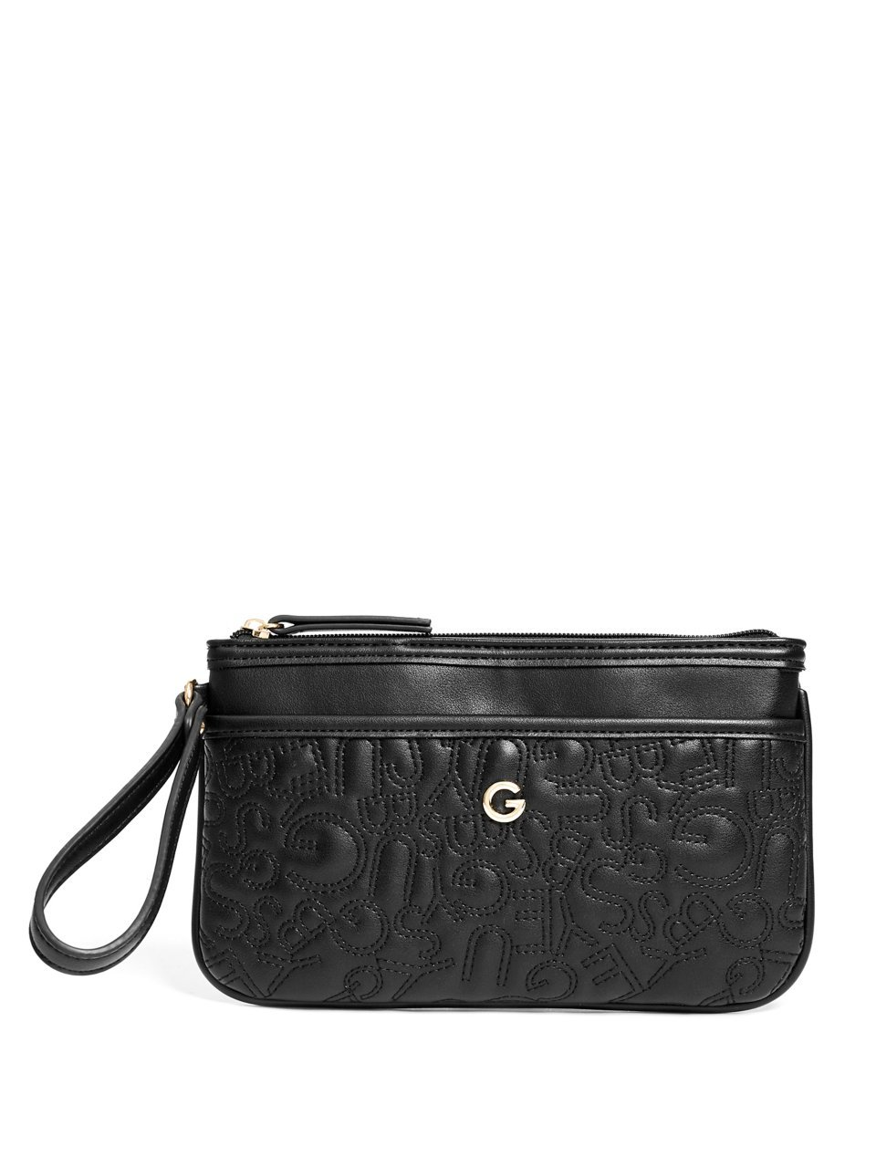 G by GUESS Women's Logo Quilted Wristlet
