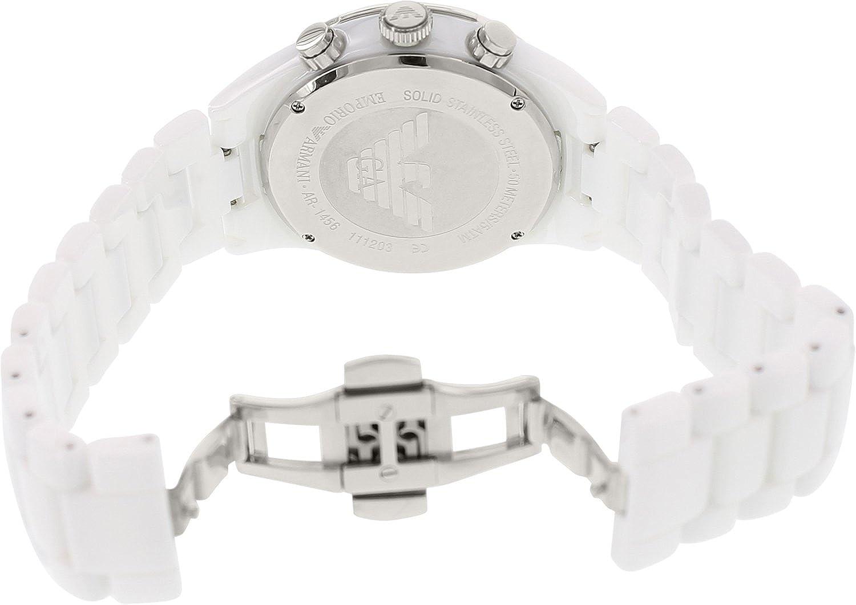 32b48ad1 Amazon.com: Armani Ceramica AR1456 Ceramic Case White Ceramic ...