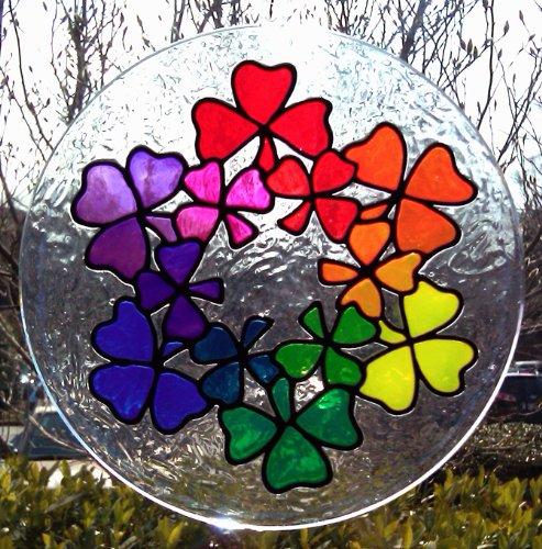 Plaid Gallery Glass Window Color Value Paint Set 17030