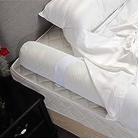 Modvel Toddler Bed Bumper Rail Guard (White)