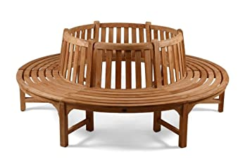 tree seats teak garden furniture fully assembled outdoor patio solid wood tree seats garden furniture u47 seats