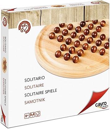 Cayro - Solitario - Juego de razonamiento y Estrategia - Juego de Mesa Tradicional - Desarrollo de Habilidades cognitivas e inteligencias múltiples - Juego de Mesa (630): Amazon.es: Juguetes y juegos